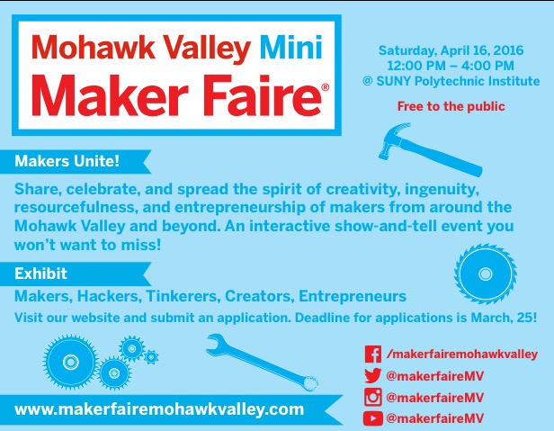 Welcome Mohawk ValleyMakers!